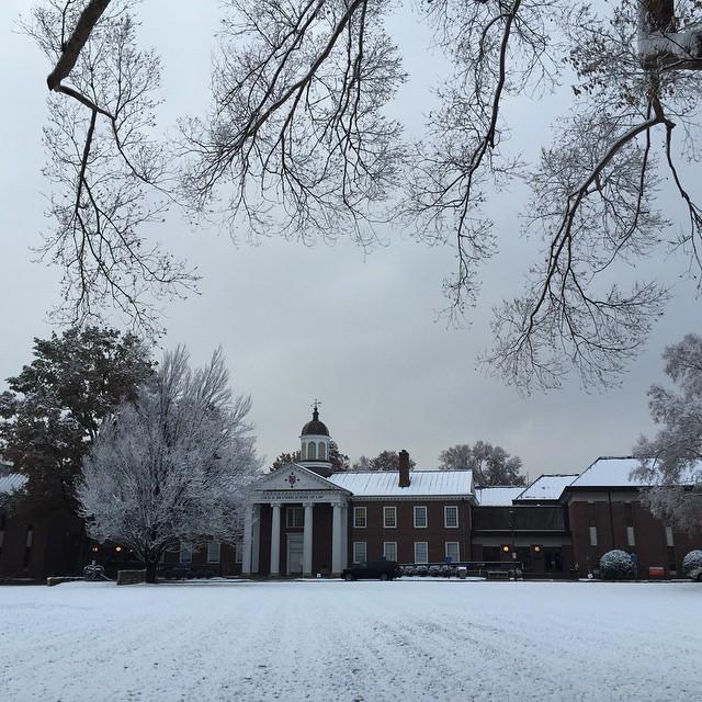 First Winter Snow 2014 #uofl
